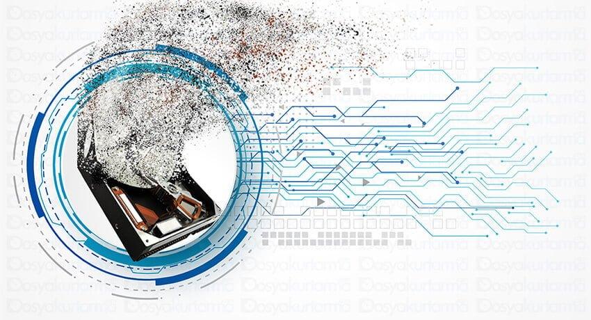 Dosya Kurtarma HDD, SSD ve Flash Disk Veri İmha